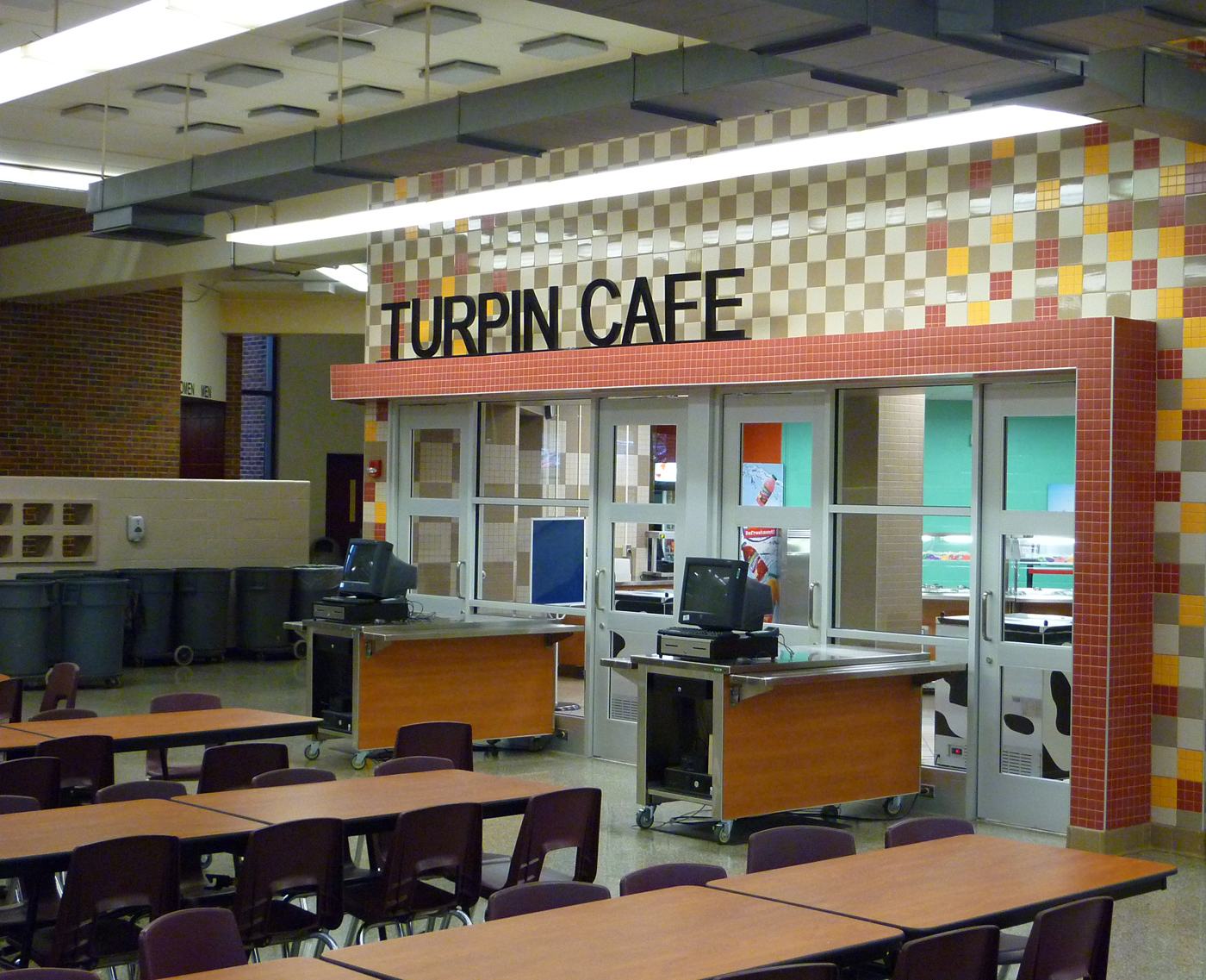 Turpin High School Cafeteria Graybach Construction Management